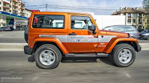 orange jeep wrangler jeep wrangler facelift review autoevolution