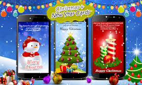 electronic new year cards christmas new year cards free android app android freeware