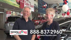 world auto toyota toyota world of newton may youtube