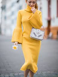 yellow sweater dress instagram up 6 vacation get ups to get you away in