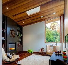chambre enfant luxe design interieur plafond pente bois chambre enfant luxe 102 idées