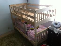 Crib Bunk Beds Bunk Bed With Crib Underneath Wood Loft Bed With Crib Underneath