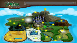 Skyward Sword Map Is This Evidence Of A Timeline Spot Zd I Forums Zelda Dungeon