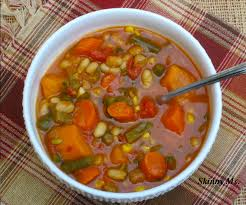 slow cooker hearty vegetable and bean soup recipe bean soup