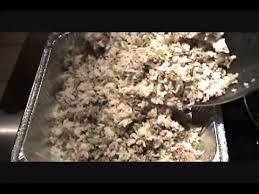sicilian hamburger and rice thanksgiving