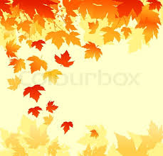 autumn colorful leaves background for thanksgiving design stock