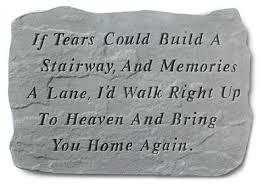 engraved memorial stones garden memorial personalized memorial stones