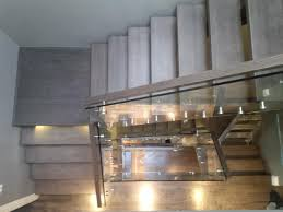 Stairs With Open Risers by Solid Oak Open Riser Modern Stair Renovation Artistic Stairs Canada