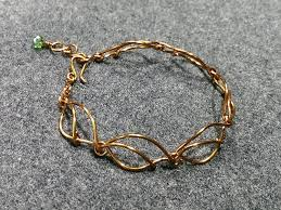 bracelet handmade jewelry images Leafs bracelet handmade jewelry ideas 165 lananh handmade jpg