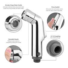 Handheld Bidet Sprayer Set For Toilets Toilet Brass Handheld Bidet Spray Shattaf Kit Sprayer Jet U0026cold