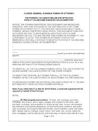 Florida General Durable Power Of Attorney by Download Notice Of Non Cooperation By The Florida Attorney General