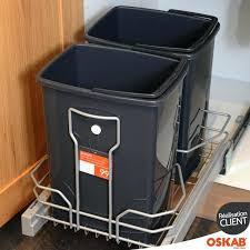 meuble poubelle cuisine poubelle sous evier finest awesome awesome dco meuble poubelle