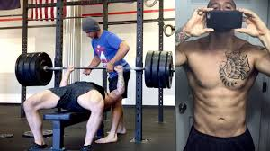 my bench press 1 rep max before u0026 after 1 year of crossfit youtube