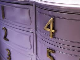 How To Update Your House by How To Update A Dresser With House Numbers Hgtv