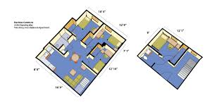 four bedroom house floor plans maximino martinez commons housing