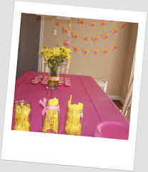how to decorate birthday party at home meghan u0027s pink and yellow princess party happy healthy mama