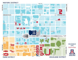 University Of Arizona Map University Of Arizona Map Pictures To Pin On Pinterest Pinsdaddy