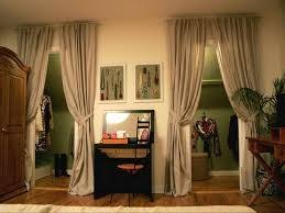 Replace Sliding Closet Doors With Curtains 35 Best Closet Curtains Images On Pinterest Bedrooms Blinds And