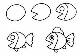 coloring pages how to draw easy fish blue tang thumb coloring