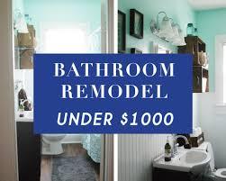 diy bathroom reno for under 1000 www simplesanctuaryblog com