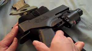 glock 19 light and laser gamble tactical la holster accepts any rail mounted light laser