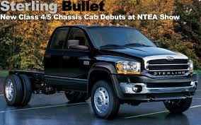 sterling dodge truck pickuptruck com sterling bullet debuts at ntea work truck