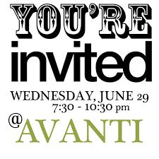 Salon Invitation Card Avanti Salon U0027s Hair And Beauty Blog A Hair U0026 Beauty Blog By