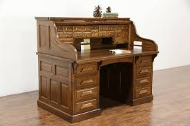 Antique Slant Top Desk Worth Antique Oak Desk Ebay
