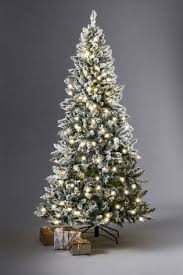 buy lit 7ft vermont snowy tree from the next uk shop
