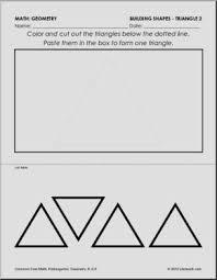 common core math worksheets for kindergarten building shapes