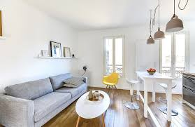 amenagement salon cuisine 30m2 beautiful amenagement salon cuisine petit espace 2 d233co salon
