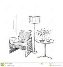 depositphotos stock photo abstract sketch design of interior