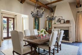 Tuscan Dining Room San Francisco Tuscan Dining Room Family Mediterranean With