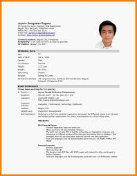 resume objective exles for service crew charming sle resume for part time job in jollibee photos