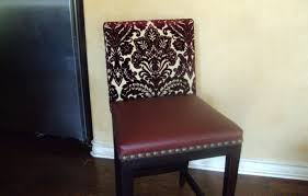 How To Upholster A Dining Room Chair How To Reupholster A Dining Chair Seat 14 Steps With Pictures