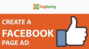 how to create a facebook ad for your facebook page