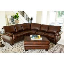 High End Leather Sectional Sofa Leather Sofas Sectionals Costco