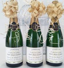 favors for weddings wedding ideas chagne bottle wedding favors ideas our mini