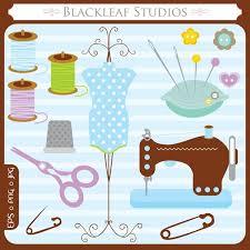 sewing kit clip art 37