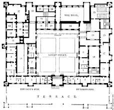 The Louvre Floor Plan by Iofan U0027s Project For The Grand Hall At The Palace Of The Soviets In