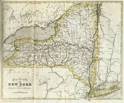 A Map Of New York City by Cayuga County Nygenweb Project Map Page