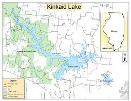 Shawnee Map Kinkaid Lake Project Receives Landscape Restoration Partnership