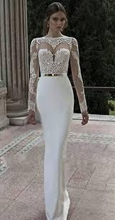 ok dress long sleeve lace mermaid wedding prom dresses 2015