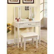 Bedroom Vanity Set Furniture Classic White Vanity For Bedroom Designed With