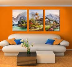 living room art canvas and print as living room decor 6 colorful