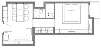 narrow apartment plans home design