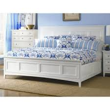 White King Size Bed Frame Nautical Coastal Beds For Less Overstock