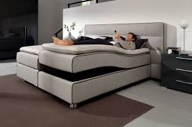 double bed contemporary upholstered with upholstered