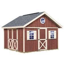 Shed Barns Best Barns Wood Sheds Sheds The Home Depot