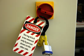 when does the lockout tagout standard apply grainger safety record